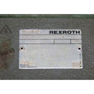 Rexroth ZDR -10-DP2-52/150YM/8 Hydraulic Valve Pressure Reducing Regulator Bosch