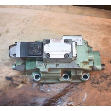 Rexroth HYDRONORMA 4 WH 22 E60UET 4WE 6 D52AW110-50NZ5LB15 Hydraulic Valve