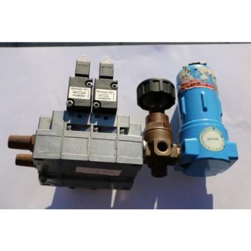 REXROTH Druckluftventil Magnetventil Ventilinsel / Solenoid valves  057