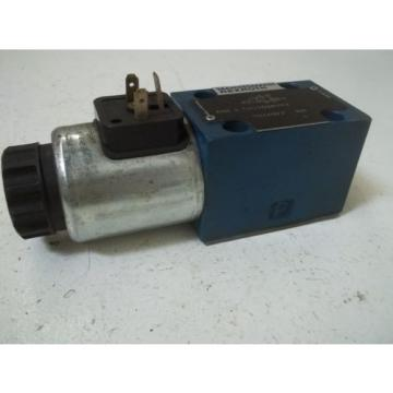REXROTH 4WE6C61/EG24N9K4 SOLENOID VALVE USED