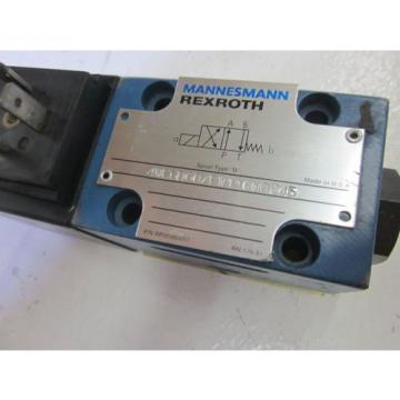 REXROTH 4WE6D60/EW110N9Z45 VALVE  USED