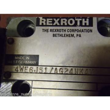 Rexroth Directional Valve 4WE6J51/AG24NK4V 4WE6J51AG24N4 Cincinnati AVENGER 200T