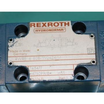 Rexroth, 4WRE6-E08-11/24Z4/M, Proportional Valve Servo