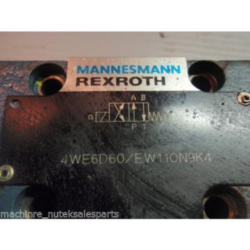 REXROTH VALVE 4WE6D60/EW110N9K4_4WE6D60/EW110N9K4