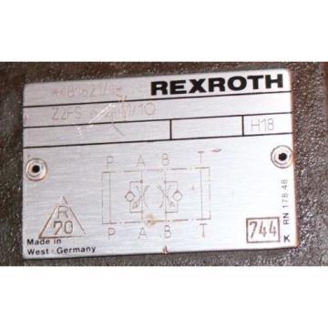 Rexroth Bosch Z2FS 6-2-41/1Q Flow Control Check Valve 481621 Origin
