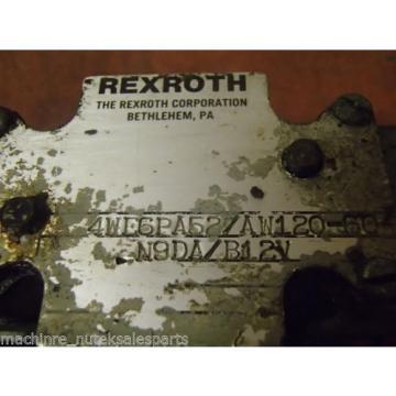 Rexroth Directional Valve 4WE6PA52/AW120-60 N9DA/B12V  4WE6PA52AW12060