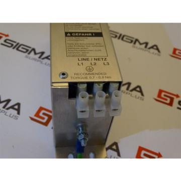 Rexroth NFD031-480-007 Power Line Filter 480VAC 7A