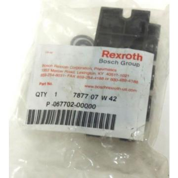 Origin REXROTH BOSCH P-067702-00000 MANIFOLD VALVE 7877 07 W 42, 487707W42
