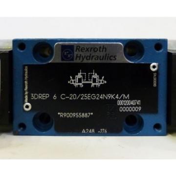 Rexroth 3DREP 6 C-20/25EG24N9K4/M 3DREP6C-20/25EG24N9K4/M R900955887 Valve -used