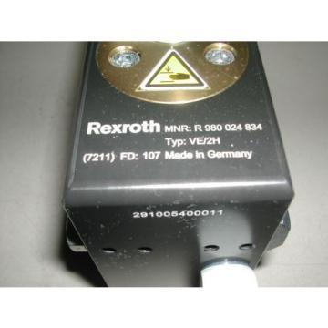 REXROTH R 980 024 834 STOP GATE VE/2H USED U4