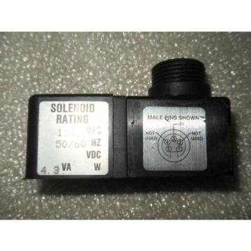 Y5-2 1 USED MANNESMANN REXROTH P28873-1 SOLENOID 150 PSI 110 VAC