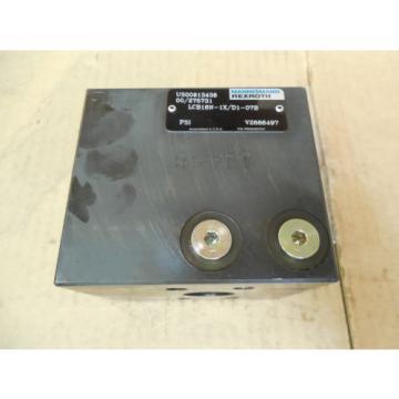 Mannesmann Rexroth LCB16N-1X/D1-07B LCB16N1XD107B origin