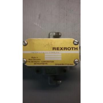 Rexroth 4WE6D51/AW120-60N9D/5V Directional Valve _ 4WE6D51AW12060N9D5V