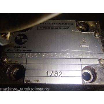 Rexroth 4WE6D51/AG24NZA-J03/2 Directional Valve 4WE6D51AG24NZAJ032