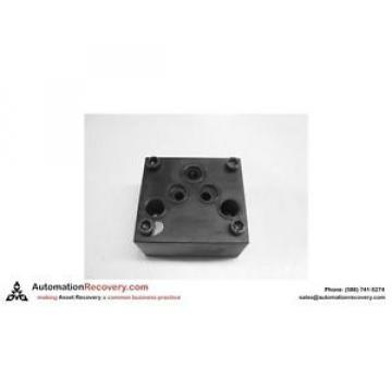 REXROTH AP6-10-1/D-01   PNEUMATIC VALVE ADAPTER, Origin #129871