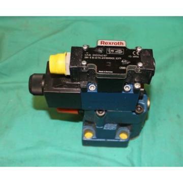 Rexroth DBW10 B2-52/315-6EW110N9DK25L, R900965187,  SO779 Hydraulic Valve Origin