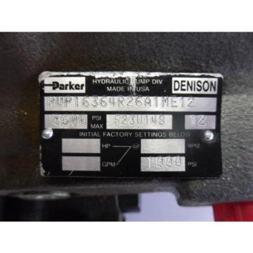 Origin PARKER/DENISON PVP16364R26A1ME12 PUMP