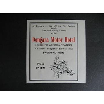 Dongara Motor Hotel Port Denison Peter amp; Wendy Vincent