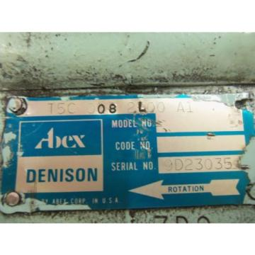 DENISON T5C-008-2L00-A1 MOTOR USED