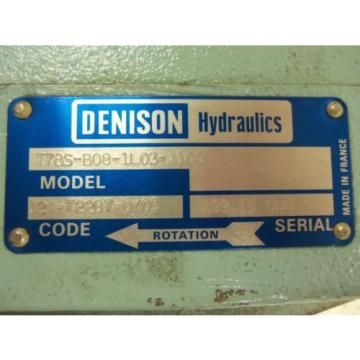 DENISON T7BS-B08-1L03-A100 MOTOR USED
