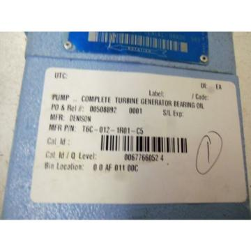 DENISON T6C-012-1R01-C5 MOTOR USED