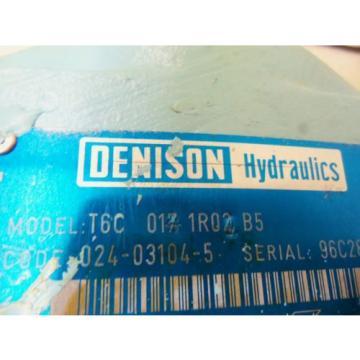 DENISON T6C-014-1R01-B5 MOTOR USED