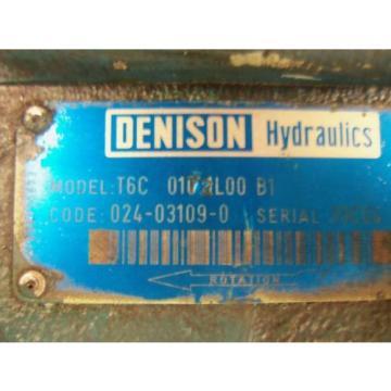 DENISON T6C-0172L00-B1 MOTOR USED