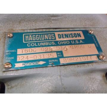 Parker  Denison hydraulic vane pump T6DC-028-010-1R00-B1 Hagglunds   014-97745-0