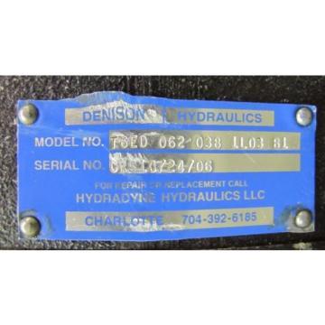 DENISON T6ED 062 038 1L03 B1 T6ED0620381L03B1 HYDRAULIC PUMP