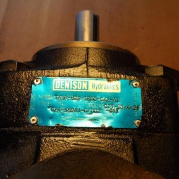 T6DR-B28-1R00-C42-A1 DENISON HYDRAULICS SINGLE VANE PUMP