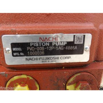 NACHI Hydraulic Pump PVD-00B-12P-5AG-4886A Euro 4153