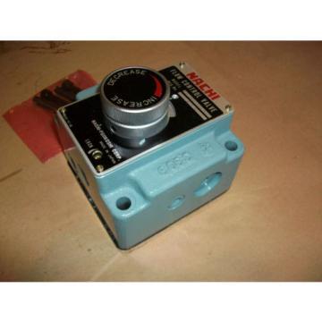 Nachi Hydraulic Flow Control Valve  FT-G03-106-E22   Origin