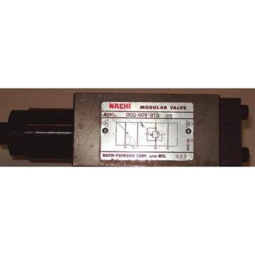 Nachi D03 Hydraulic Modular Counterbalance Valve OCQ-G01-B12-E20