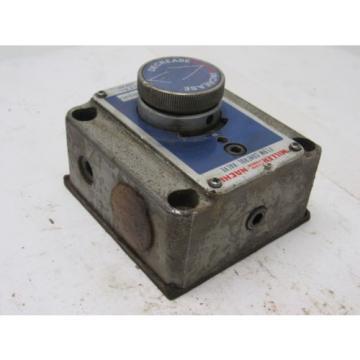Miller Nachi CFT-G02-13G-E30 Hydraulic Flow Control Valve