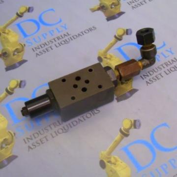 NACHI OG-G01-P1-12 PRESSURE REDUCING MODULAR HYDRAULIC VALVE