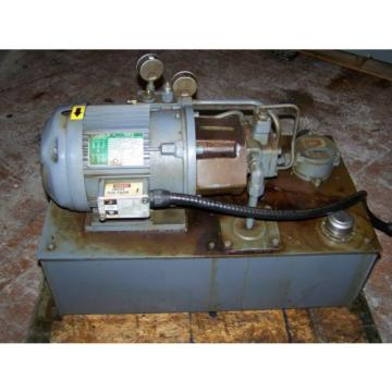 3 HP Hydraulic System with NACHI Variable Vane Pump 4 GPM/1000 PSI