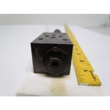 Nachi 0G-G01-PC-AK-5726B Hydraulic Pressure Reducing Modular Valve
