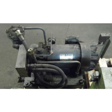 Showa 3 HP Hydraulic Unit, PVU-60-04-HX365, Used,  WARRANTY, Nachi Motor amp; Pump