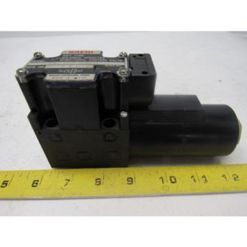 Nachi S-G01-B3X-GRZ-D2-32 Hydraulic Solenoid Directional Control Valve