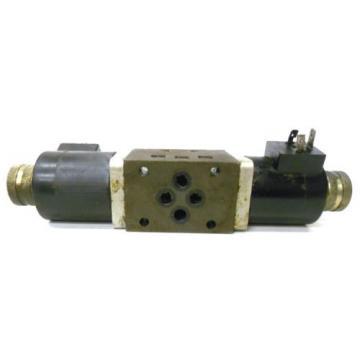 NACHI FUJIKOSHI SOLENOID OPERATED CONTROL HYDRAULIC VALVE SA-G01-C9-R-E1-8683A