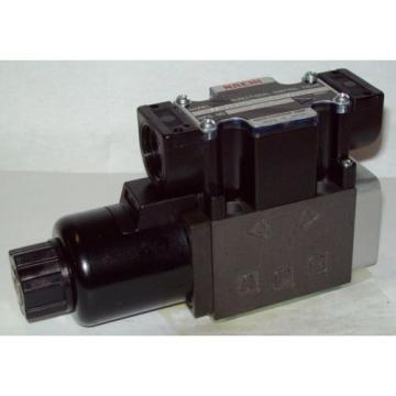 D03 4 Way Hydraulic Solenoid Valve i/w Vickers DG4V-3-??-WL-G 12 VDC