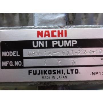 MEIDENSHA NACHI HYDRAULIC OIL PUMP MOTOR LTF70-NR PVS-1B-16N1-10 UPV-1A-16N1-2