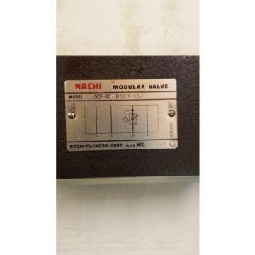 Origin NACHI OCF-GO3-B60-Y-J50 MODULAR VALVE