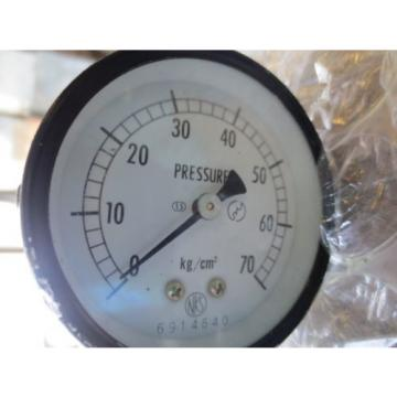 CNC NACHI HYDRAULIC MODULAR VALVE OG-G01-PC-20 0G-G01-PC amp; NKS 70 PSI GAUGE