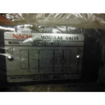 NACHI MODULAR VALVE OCP-G01-W1-21 ~ origin no box