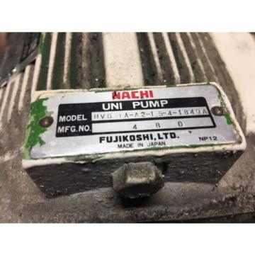 Nachi 2 HP 15kW Complete Hyd Unit, VDR-1B-1A2-21, UVD-1A-A2-15-4-1849A Used