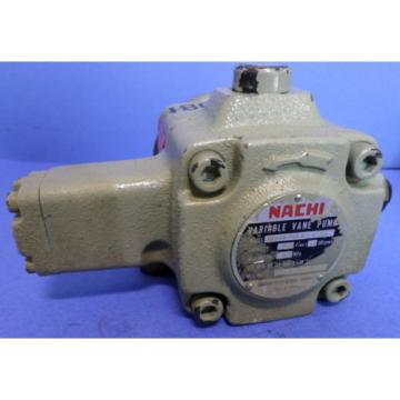 NACHI VARIABLE VANE PUMP, VDR-1A-1A3-Q11-6124A