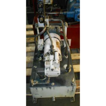 Nachi 1 HP 075 kW Complete Hyd Unit w/ Tank, # S-0588, 1993, Used