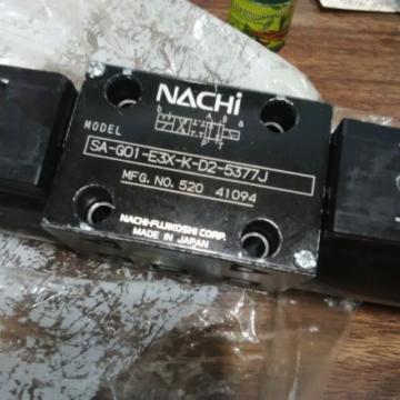 Nachi Modular Valve, # SA-G01-E3X-K-D2-5377J  origin HYDRAULIC DIRECTIONAL