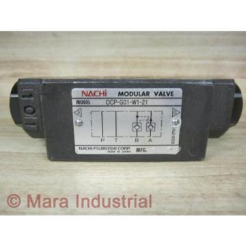 Nachi OCP-G01-W1-21 Modular ValveOCPG01W121 - origin No Box